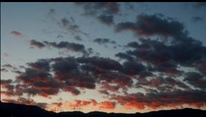 Fancy cell-phone sunrise shot.