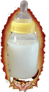 Holy Milk, Oh Holy Bottle at Night!