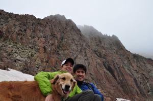 Almost to the top of El Diente Peak, CO.