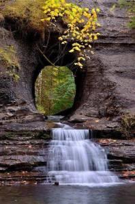 Water through Rock, Port Alberni, British Columbia