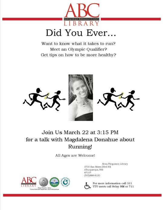 Flier for running