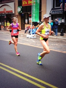 All smiles at mile 25!